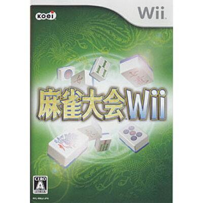 麻雀大会 Wii/Wii/RVLPRMJJ/A 全年齢対象
