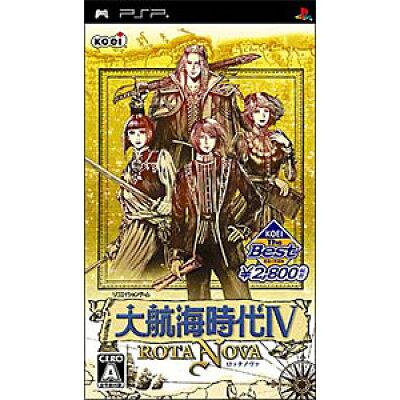大航海時代IV ROTA NOVA(ロッタ ノヴァ)(KOEI The Best)/PSP/ULJM05248/A 全年齢対象