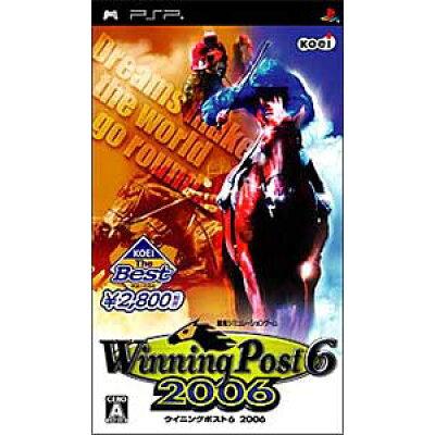 ウイニングポスト6 2006(KOEI The Best)/PSP/ULJM05312/A 全年齢対象