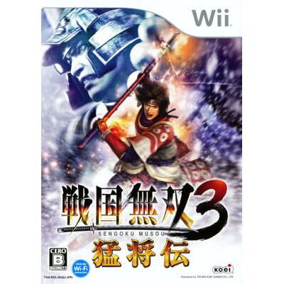 戦国無双3 猛将伝/Wii/RVL-P-S5QJ/B 12才以上対象