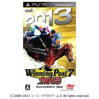 ウイニングポスト7 2013/PSP/ULJM06238/A 全年齢対象