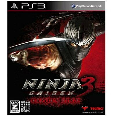 NINJA GAIDEN 3: Razor's Edge/PS3/BLJM61010/【CEROレーティング「Z」(18歳以上のみ対象)】
