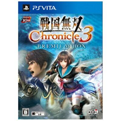 戦国無双 Chronicle(クロニクル) 3 プレミアムBOX/Vita/KTGSV0272/B 12才以上対象