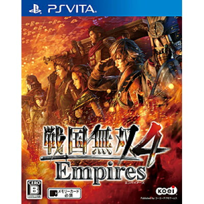 戦国無双4 Empires(エンパイアーズ)/Vita/VLJM35267/B 12才以上対象