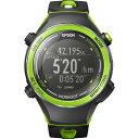 エプソン Wristable GPS ランニングウオッチ グリーン SF720G