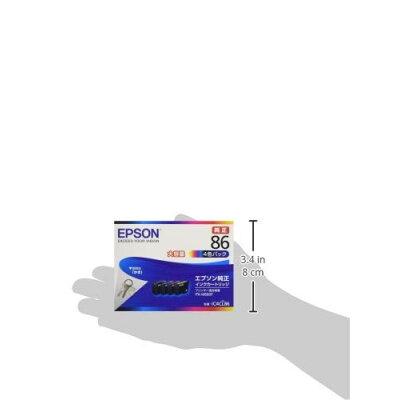 EPSON インクカートリッジ IC4CL86 4色
