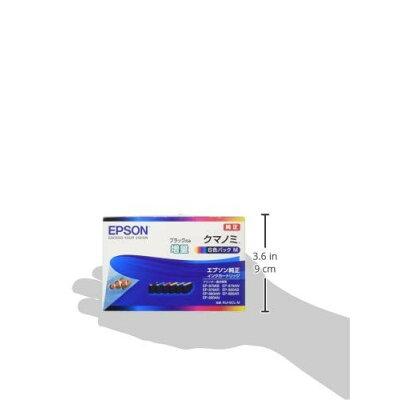 エプソン インクカートリッジクマノミ KUI-6CL-M 6色パック(1セット)