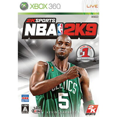 NBA 2K9(英語版)/XB360/C9D00001/A 全年齢対象