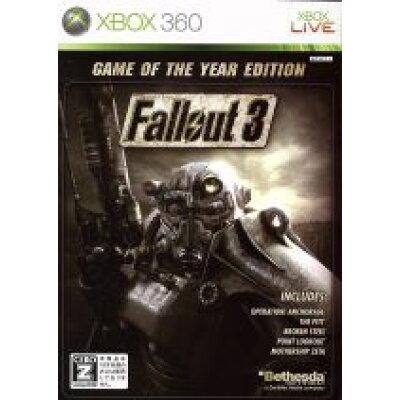 フォールアウト 3:Game of the Year Edition/XB360/M9C-00004/【CEROレーティング「Z」(18歳以上のみ対象)】