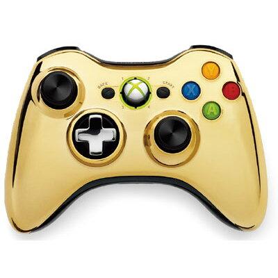 XBOX360周辺機器 / Xbox360 ワイヤレスコントローラーse クローム ゴールド