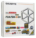 GIGABYTE マザーボード  GA-F2A75M-D3H (REV. 1.0)