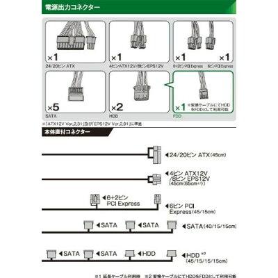玄人志向 ATX電源 KRPW-N500W/85+