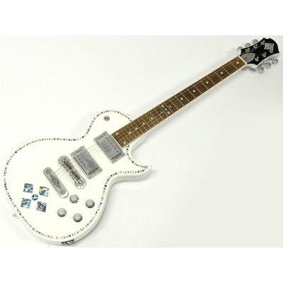Zemaitis A24SU WHITE PEARL DIAMOND エレキギター