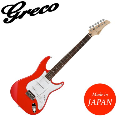 GRECO WS-STD RED Rosewood Fingerboard エレキギター
