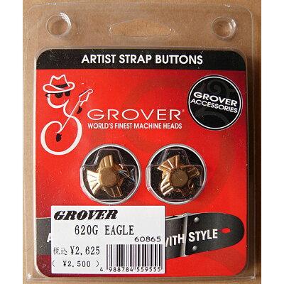 GROVER 620G EAGLE/Gold ストラップボタン