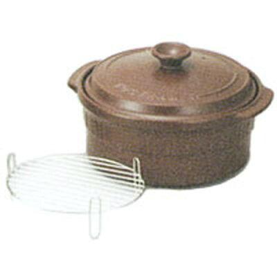 西日本陶器 ニュートーセラム鍋 26cm 深型 直火用 セピア