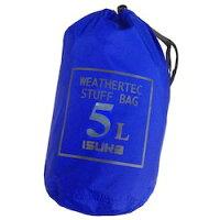 ISUKA イスカ キャンプ用品 ウェザーテック スタッフバッグ 5 カラー:ロイヤルブルー