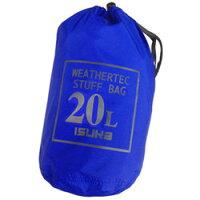 ISUKA イスカ キャンプ用品 ウェザーテック スタッフバッグ 20 カラー:ロイヤルブルー