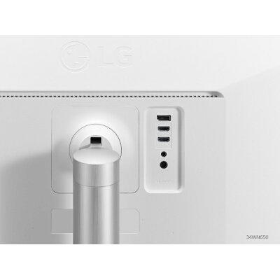 LG 液晶ディスプレイ 34WN650-W