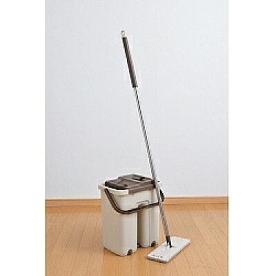 洗って絞れるお掃除  アラシーボモップ 洗う 絞る バケツ