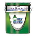 MOLY GREEN モリグリーン white ホワイト 10W30 SL CF 鉱物油 20L