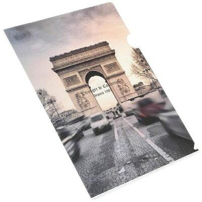 エトランジェ・ディ・コスタリカ A4クリアホルダー Paris 凱旋門2 PARIS-32-03