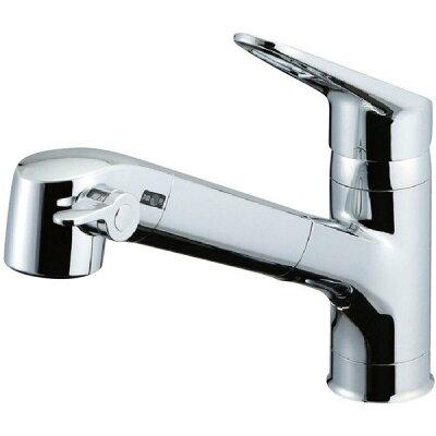 LIXIL 浄水器内蔵シングルレバー混合水栓 JF-AB466SYXJW