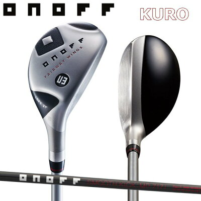 オノフ ONOFF ONOFF FAIRWAY WINGS KURO ユーティリティ MP717I 0146544017 9999