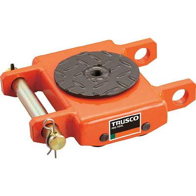 TRUSCO オレンジローラー ウレタン車輪付 低床型 2TON