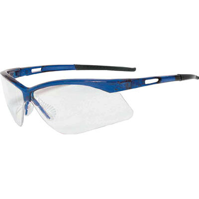TRUSCO 二眼型セーフティグラス フレームブルー