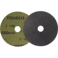 TRUSCO ディスクペーパー4型 Φ100X15.9 #60 10枚入