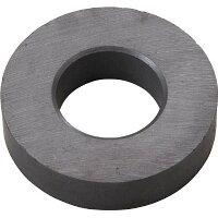 TRUSCO フェライト磁石 外径45mmX厚み10.5mm 1個入り
