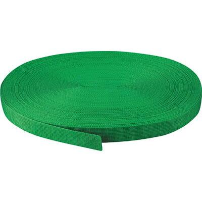 TRUSCO PPベルト幅30mmX長さ20m 緑