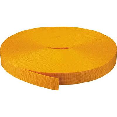 TRUSCO PPベルト幅30mmX長さ50m 黄