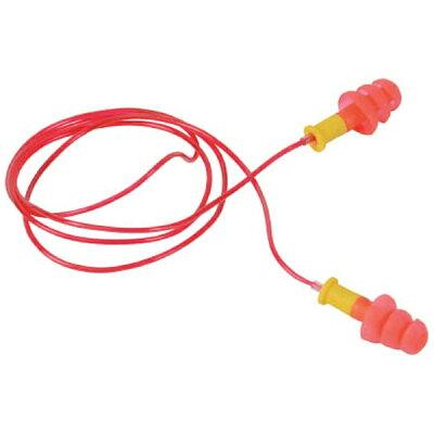 TRUSCO トラスコ中山 TRUSCO 耳栓 コード付 3段フランジタイプ 25dB