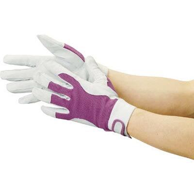 TRUSCO マジック式革手袋 Mサイズ