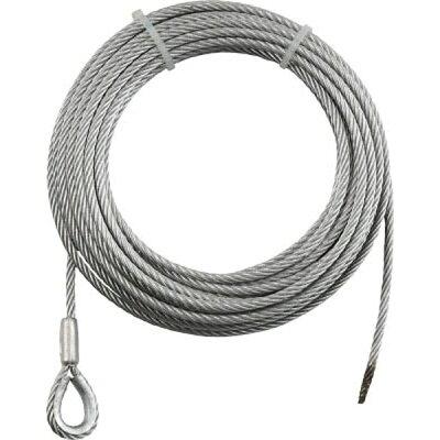 トラスコ中山 trusco 手動ウインチ用ワイヤーφ 用 シンブル入りロック加工 wws8-30