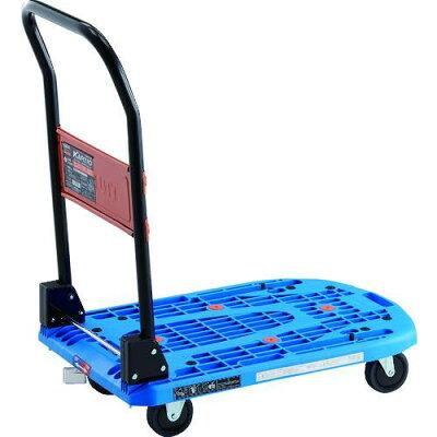 トラスコ カルティオ 折畳 780X490 青 樹脂ストッパー付 1台 品番:MPK-720-B-JS