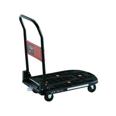 トラスコ カルティオ 折畳 780X490 黒 樹脂ストッパー付 1台 品番:MPK-720-BK-JS