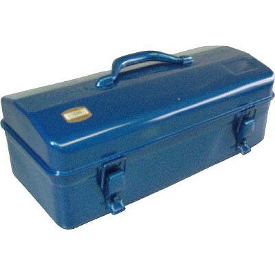 TRUSCO 山型工具箱 416X187X200 ブルー