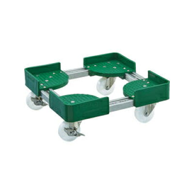 トラスコ 伸縮式コンテナ台車 内寸500-600X1000-1100 S付 1台 品番:FCD6-50100-S