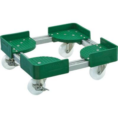 トラスコ 伸縮式コンテナ台車 内寸500-600X800-900 S付 1台 品番:FCD6-5080-S