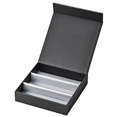 名古屋眼鏡 3本収納 コレクションBOX ブラック 2550-01
