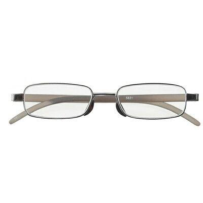 名古屋眼鏡 超薄型老眼鏡 ガンメタル