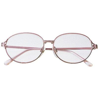 名古屋眼鏡 シニアグラス ライブラリー 4320 ピンクメタル/+3.50