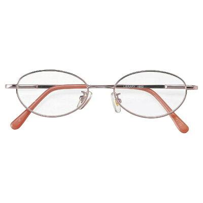 名古屋眼鏡 シニアグラス ライブラリー 4660 ピンクメタル/+2.50