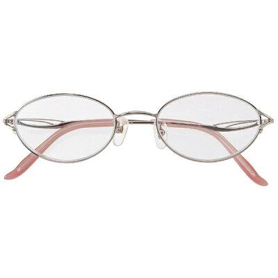 名古屋眼鏡 シニアグラス ベストエージ 5260 ピンクメタル/+3.00
