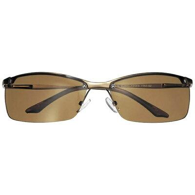 名古屋眼鏡 ファッションサングラス マットブラウン/ブラウン 7757-02