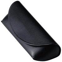 名古屋眼鏡 セミハード メガネケース ブラック 2468-01
