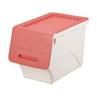 サンカ 収納ボックス フロック スリム 30 深型 ピンク